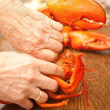 Lobster Shelling Lobster Instructions