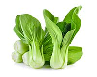 baby bok choy, trimmed and sliced into thin strips