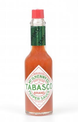 Tabasco sauce or other hot sauce