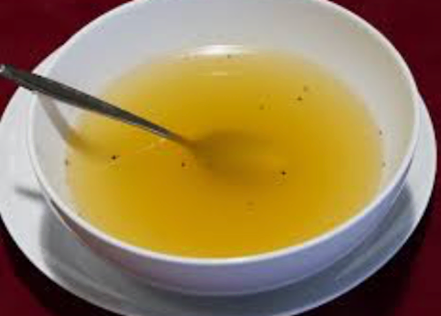 Low-sodium chicken or vegetable broth