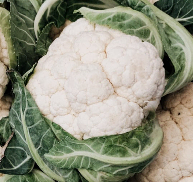 2 – 2.25 lb. head of fresh cauliflower, cut into 1-inch florets