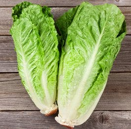 small romaine lettuce leaves