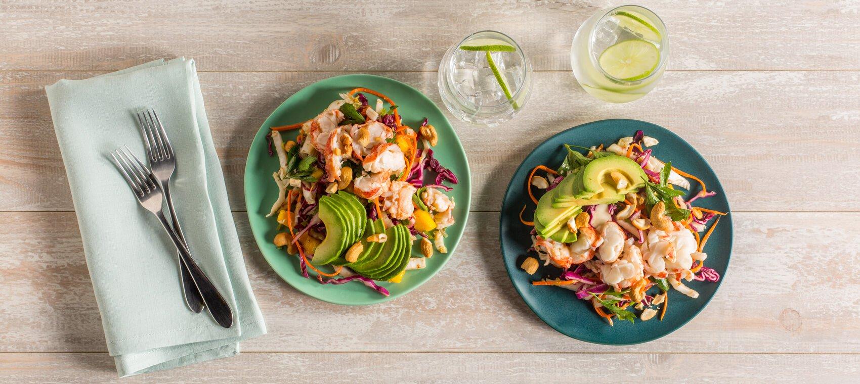 Lobster Caribbean Salad