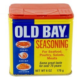 Old Bay or seafood seasoning