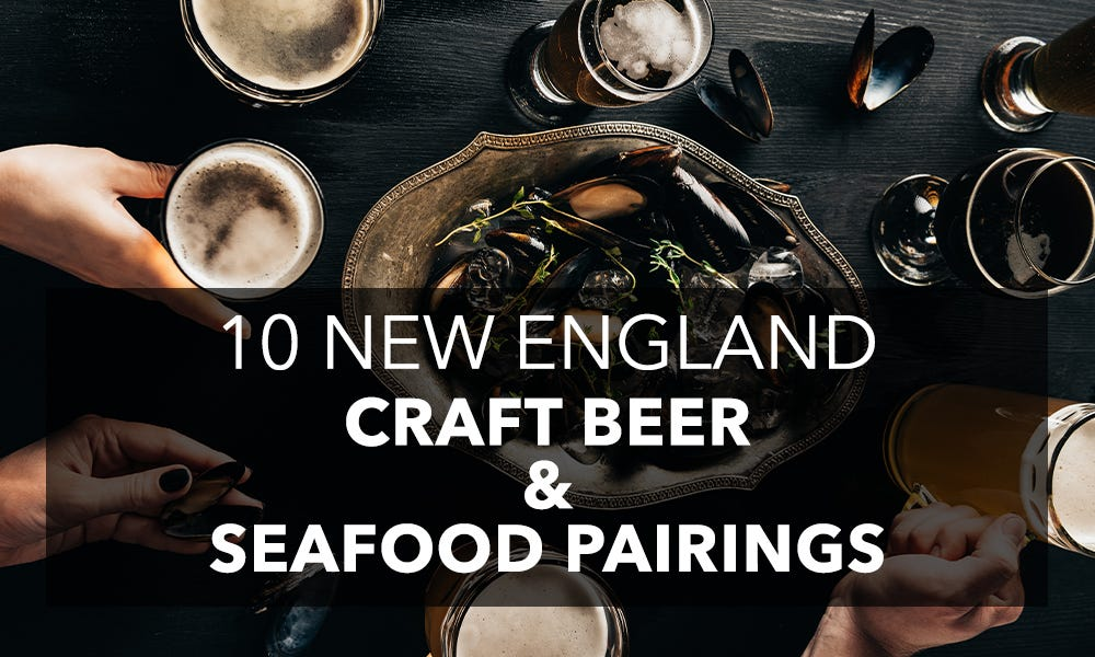 New England seafood and beer