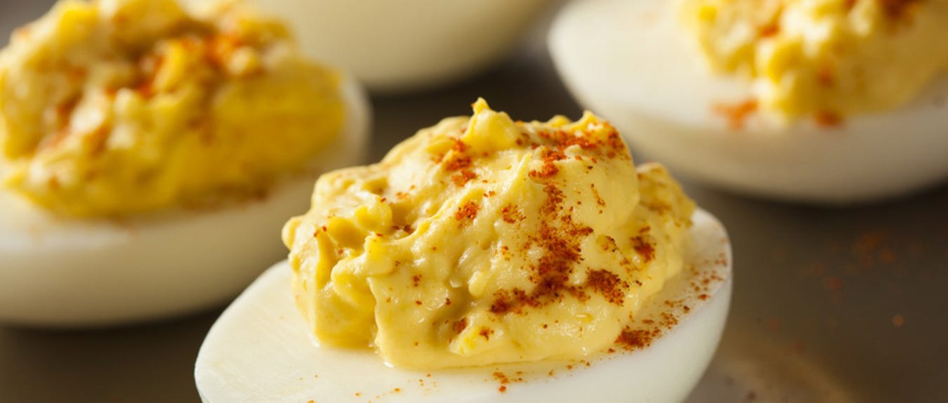These Lobster Deviled Eggs will be the only ones you need this Easter!