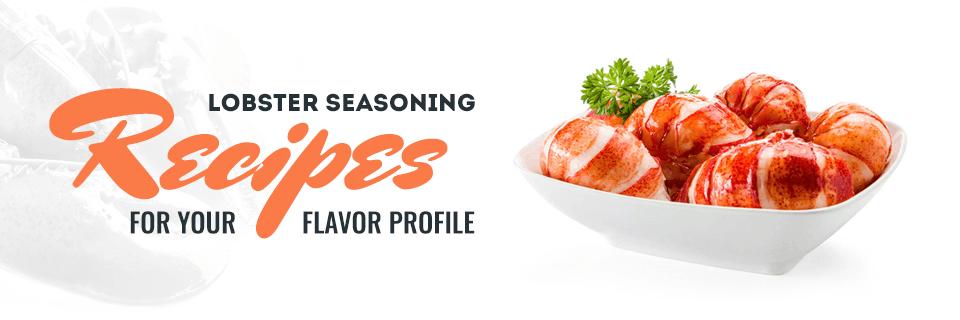 Lobster seasoning recipes