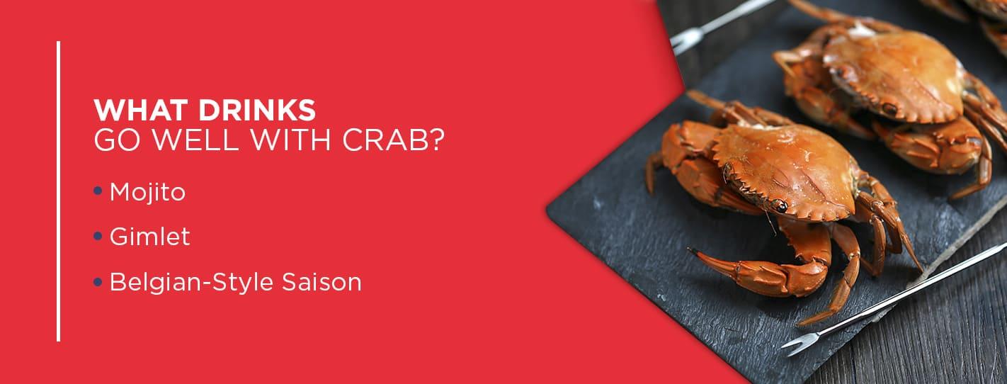 best cocktails for crab