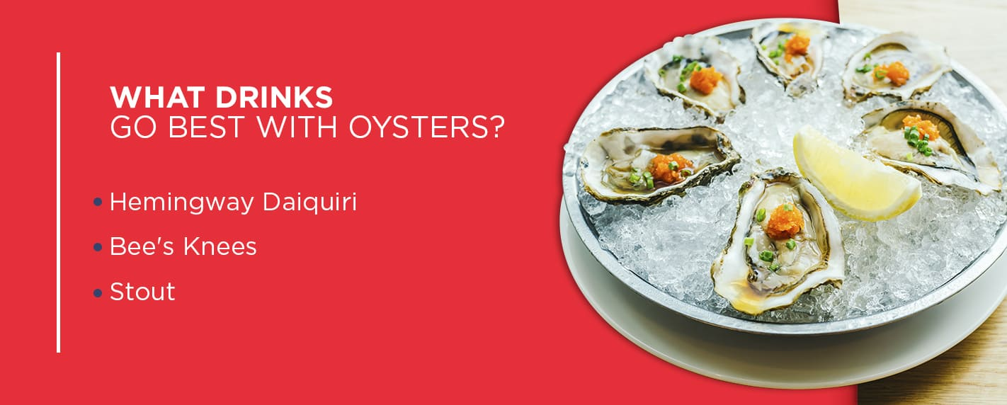cocktails for oysters