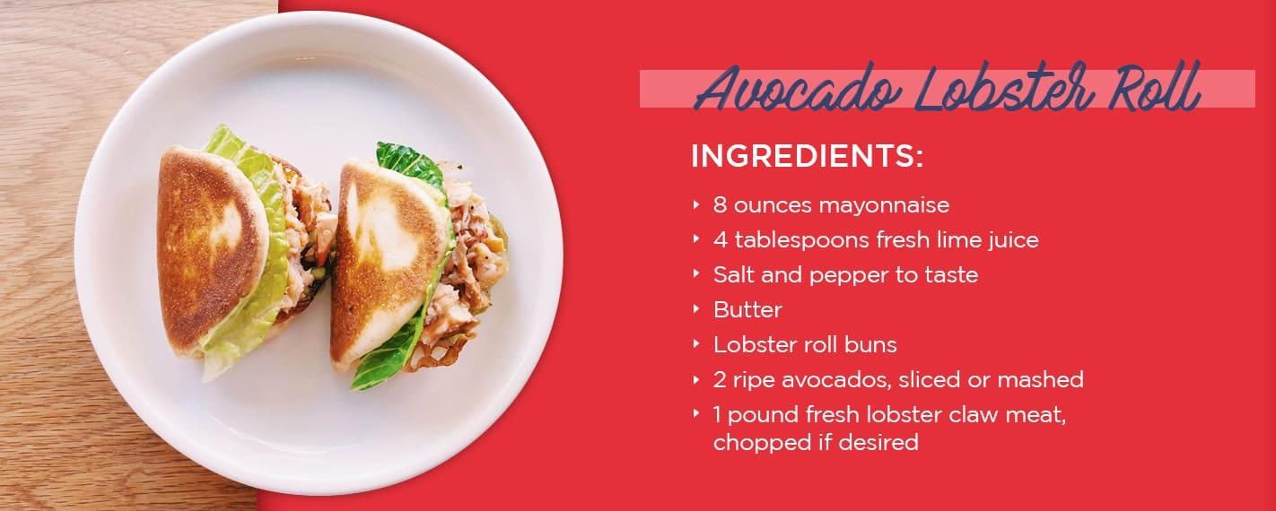 avocado lobster roll recipe