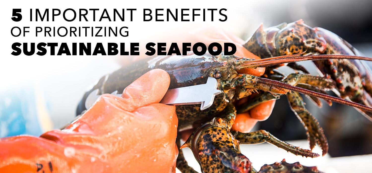 prioritizing sustainable seafood