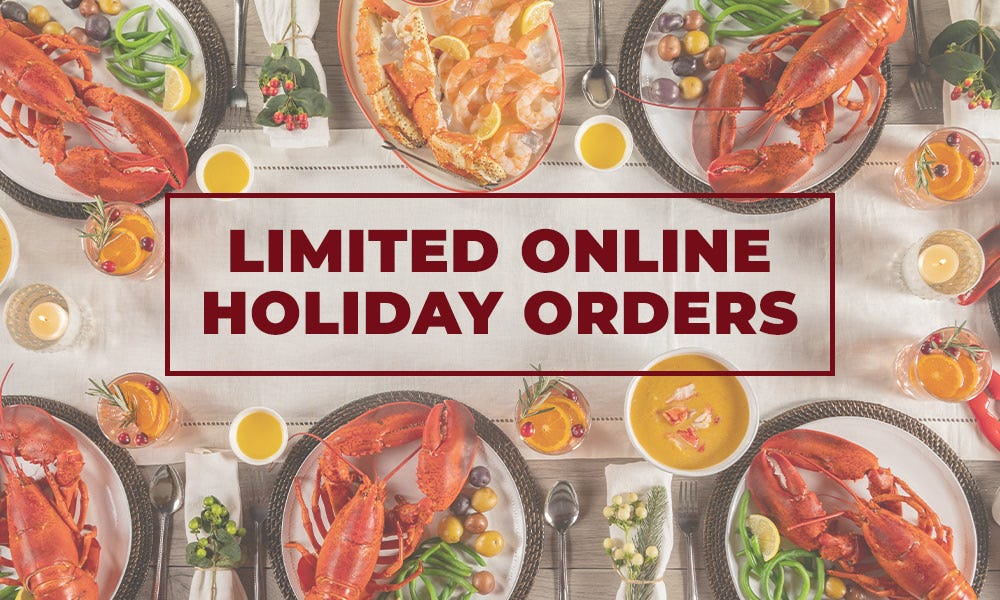 Limited Online Holiday Orders