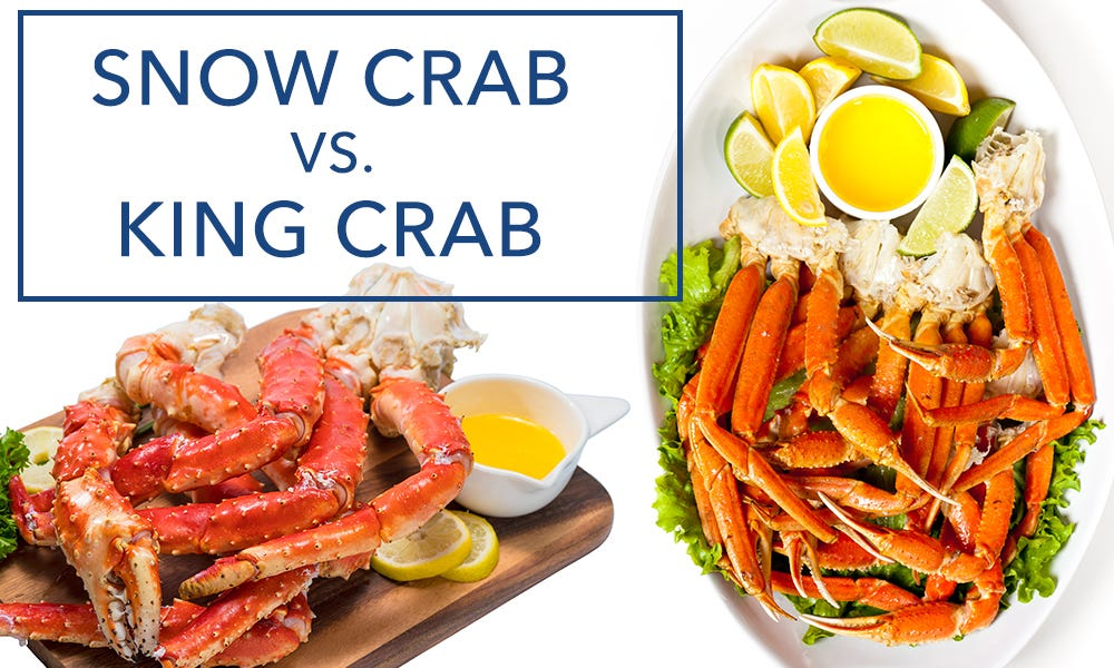 Snow Crab vs. King Crab