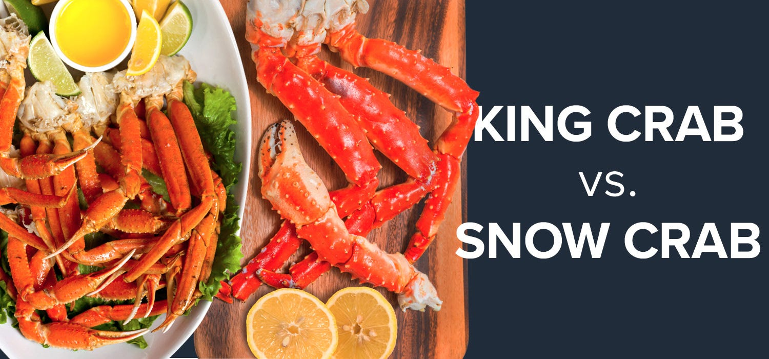 Long Arm of the Claw: The Difference Between King Crab vs. Snow Crab
