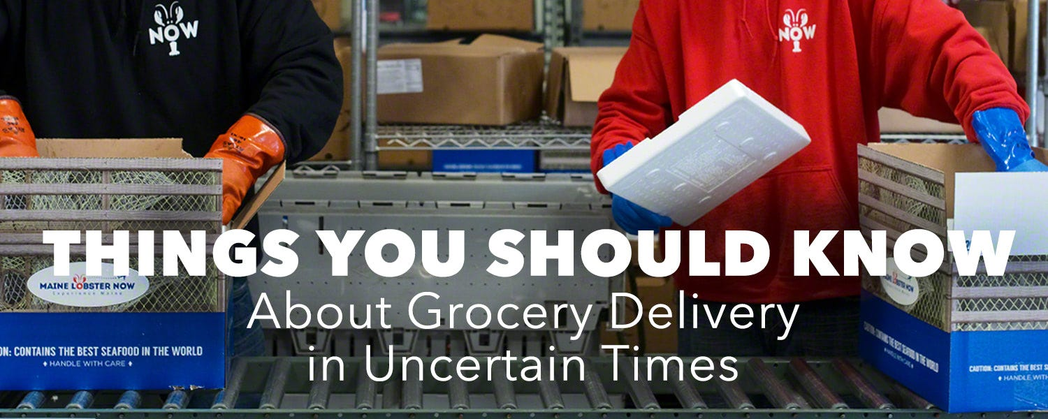 Things You Should Know About Grocery Delivery In Uncertain Times