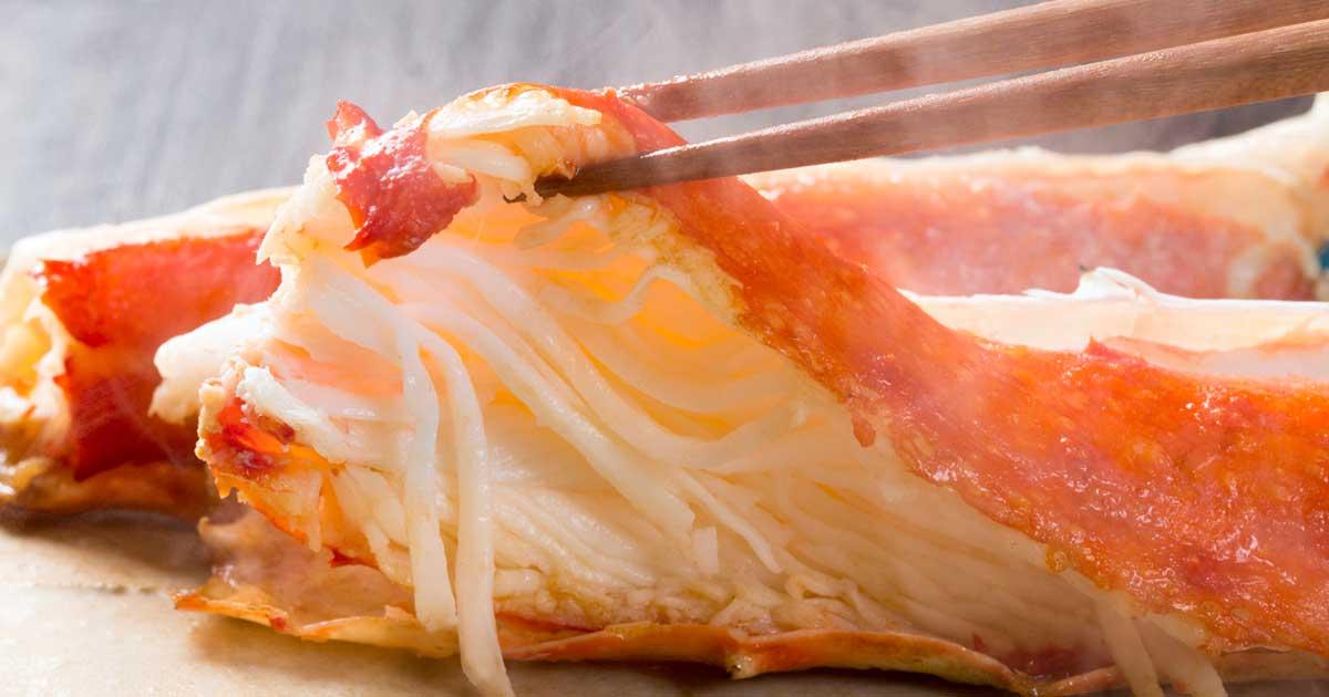 King Crab Meat Shredding