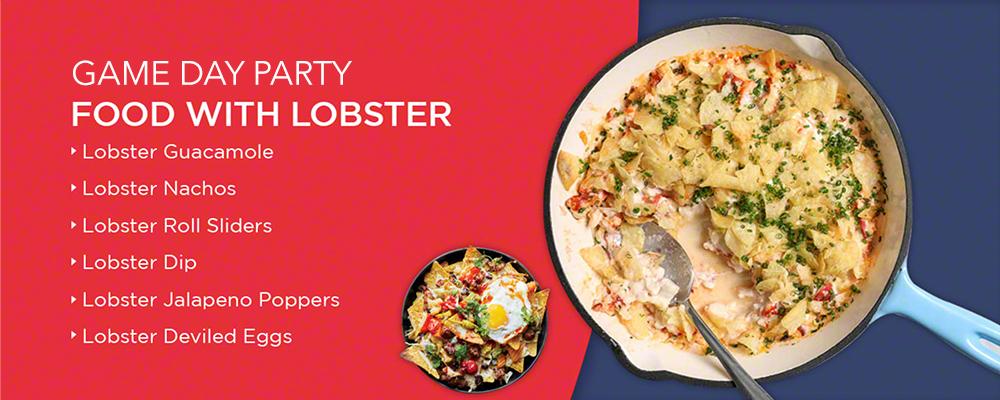 lobster dishes for super bowl