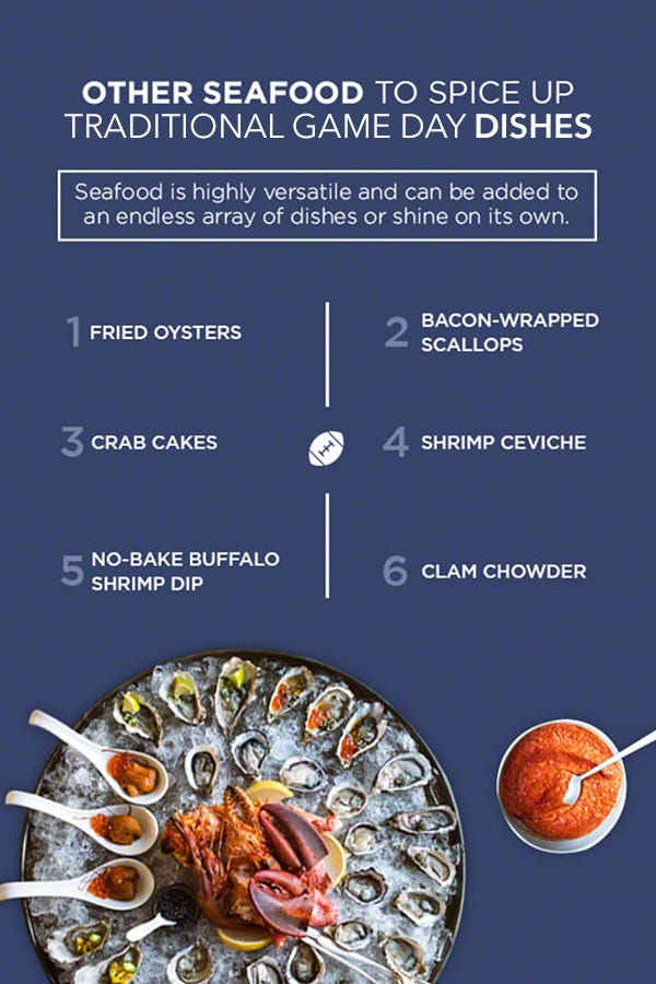 seafood super bowl party