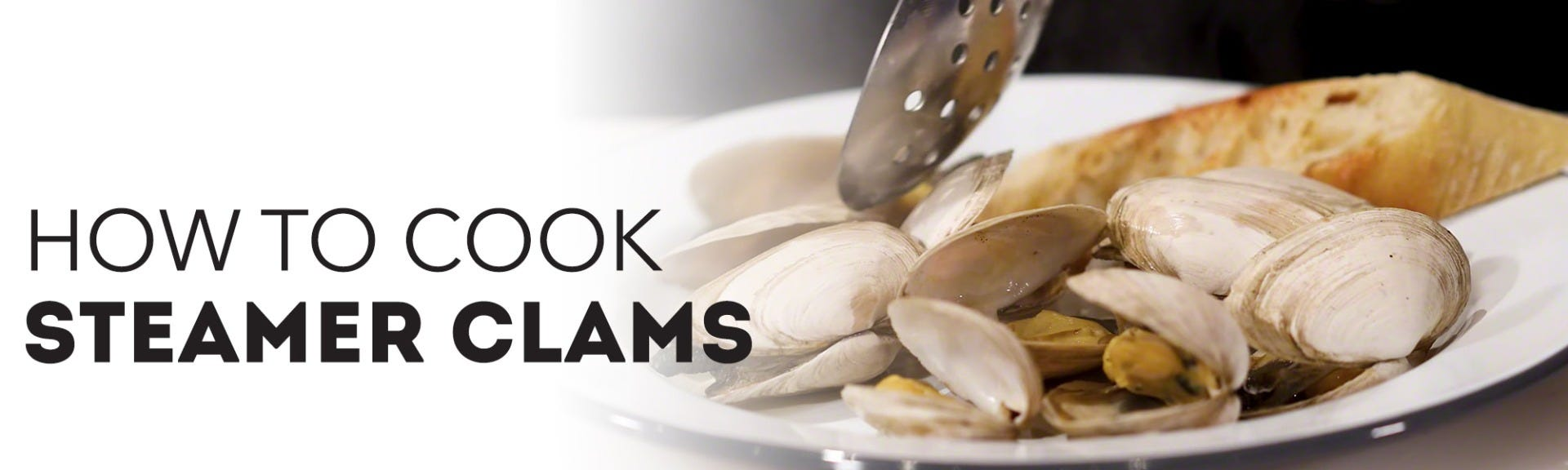 How to cook steamer clams